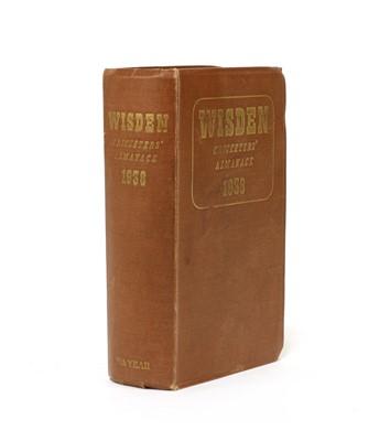 Lot 80 - WISDEN Cricketers' Almanack: 1938