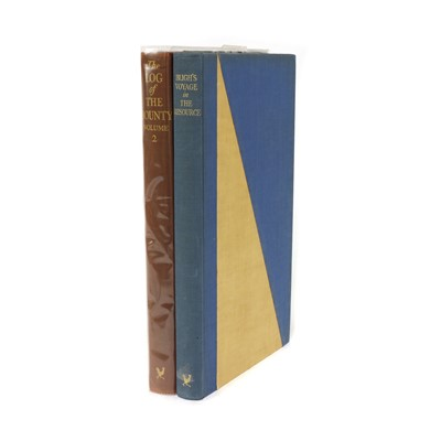 Lot 104 - GOLDEN COCKREL PRESS: 1- BLIGH S VOYAGES IN THE RESOURCE