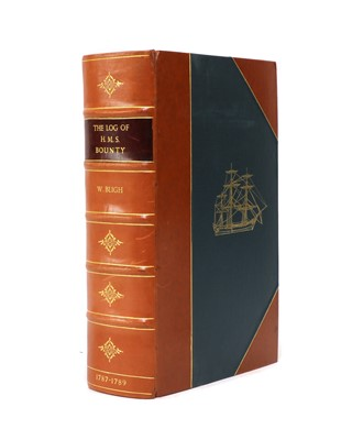 Lot 103 - GENESIS PRESS: BLIGH, Capt. W: The Log of HMS Bounty 1787-1791