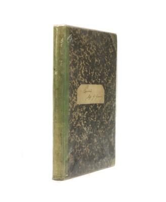 Lot 84 - Stephen GRUNDY'S private log during H.M.S. Pelican's visit to Pitcairn Island in 1886.