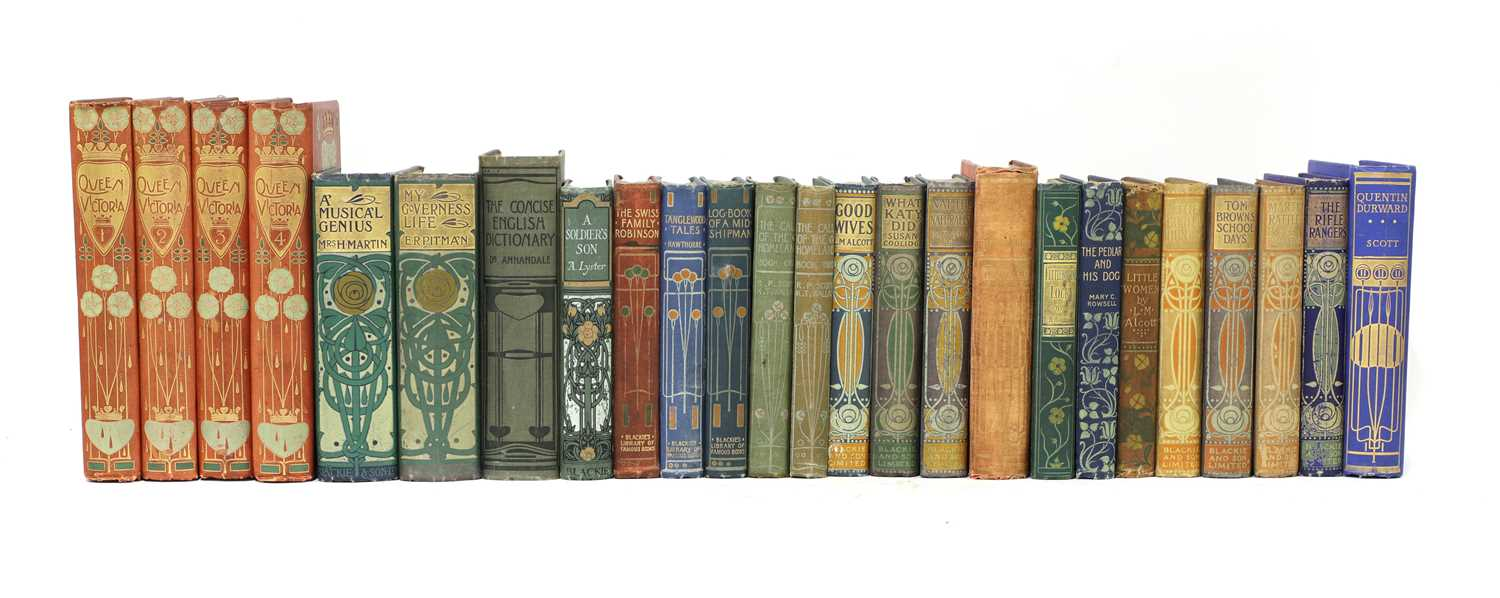 Lot 64 - Talwin Morris and Blackie & Son books