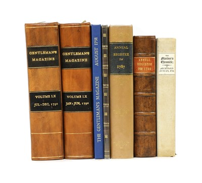 Lot 89 - Periodicals with reference to the BOUNTY
