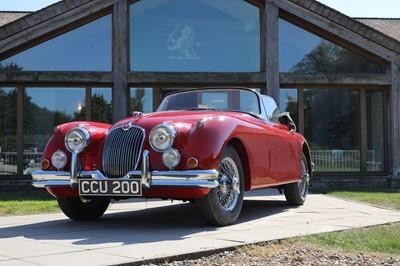 Lot 1958 Jaguar XK150 drop-head coupé 3442cc