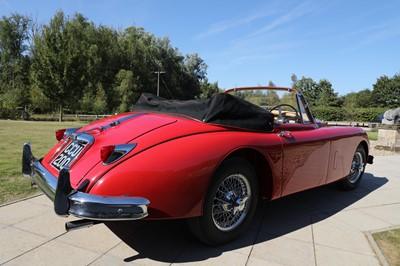 Lot 1 - 1958 Jaguar XK150 drop-head coupé 3442cc