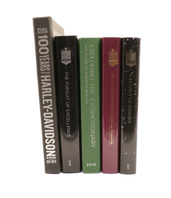 Lot 98 - A collection of Bentley and other motoring books