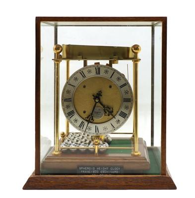 Lot 86 - Thwaites & Reed spheroid weight clock