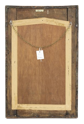 Lot 81 - A Liberty Arts and Crafts copper wall mirror