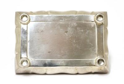 Lot 23 - A WMF silver-plated jewellery box