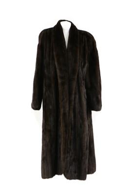 Lot 104 - A full length mink fur coat