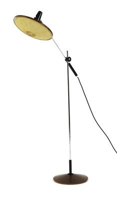 Lot 574 - A mid-century teak cantilever floor lamp