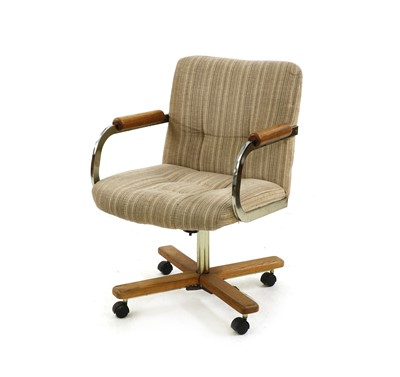 Lot 487 - A desk chair