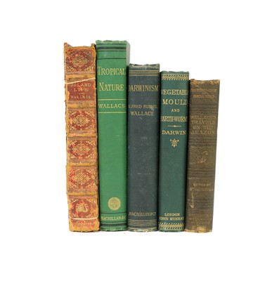 Lot 17 - WALLACE (Alfred Russel): 1- Island Life.