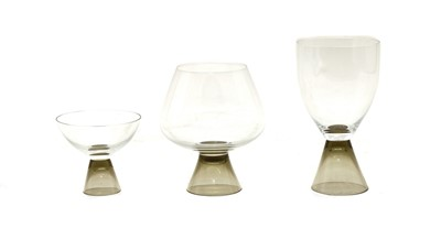 Lot 92 - A Rosenthal 'Fortuna' glass suite