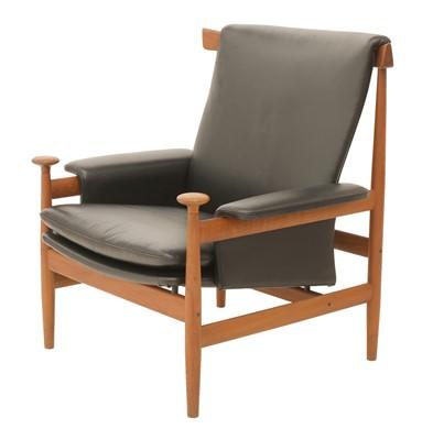 Lot 563 - A teak 'Bwana' armchair