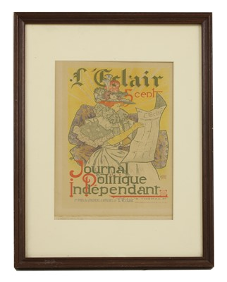 Lot 7 - A French Belle Epoque lithographic poster