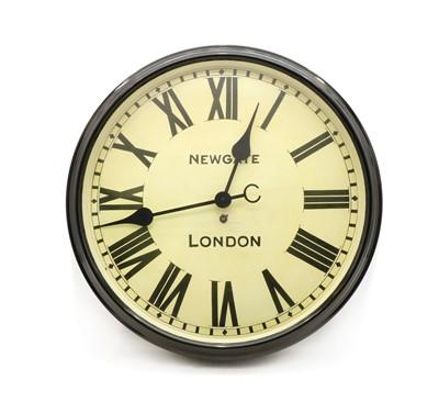 Lot 78 - A vintage design wall clock