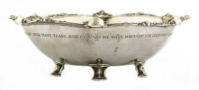 Lot 68 - An Arts and Crafts silver bowl