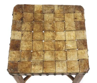 Lot 84 - A Gordon Gordon Russell 'Stow' oak stool
