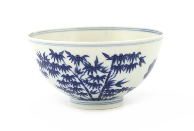 Lot 31 - A Chinese blue and white bowl
