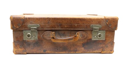 Lot 89 - An early 20th century J.W Benson leather gentleman's dressing case