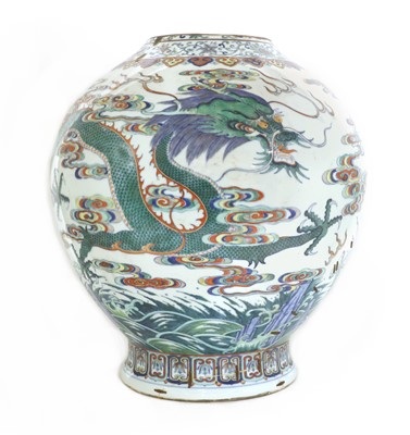 Lot 61 - A Chinese doucai vase