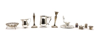Lot 4 - A collection of silver items