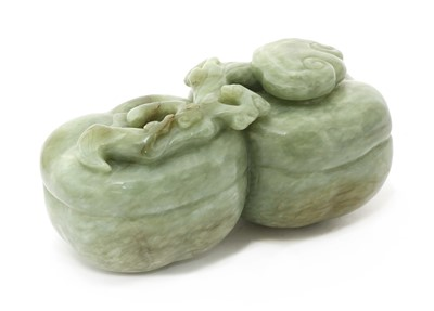 Lot 90 - A Chinese jade carving
