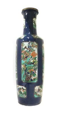 Lot 62 - A Chinese wucai vase