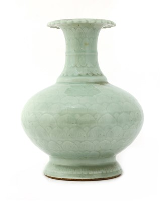 Lot 38 - A Chinese celadon vase