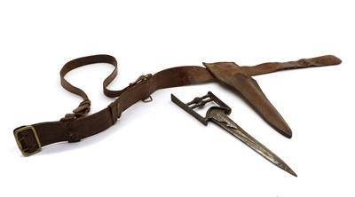 Lot 34A - An Indian Katar push dagger